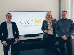 evenIoT udnytter styrken ved det landsdækkende Sigfox IoT netværk